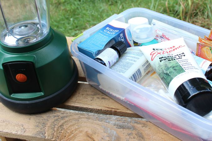 Keep Tecnu Extreme Medicated Poison Ivy Scrub in your first aid kit for camping.