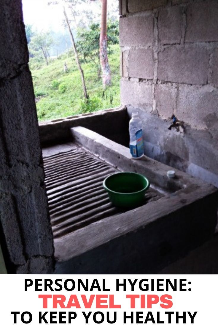 A sink to wash dishes in the mountains of Honduras