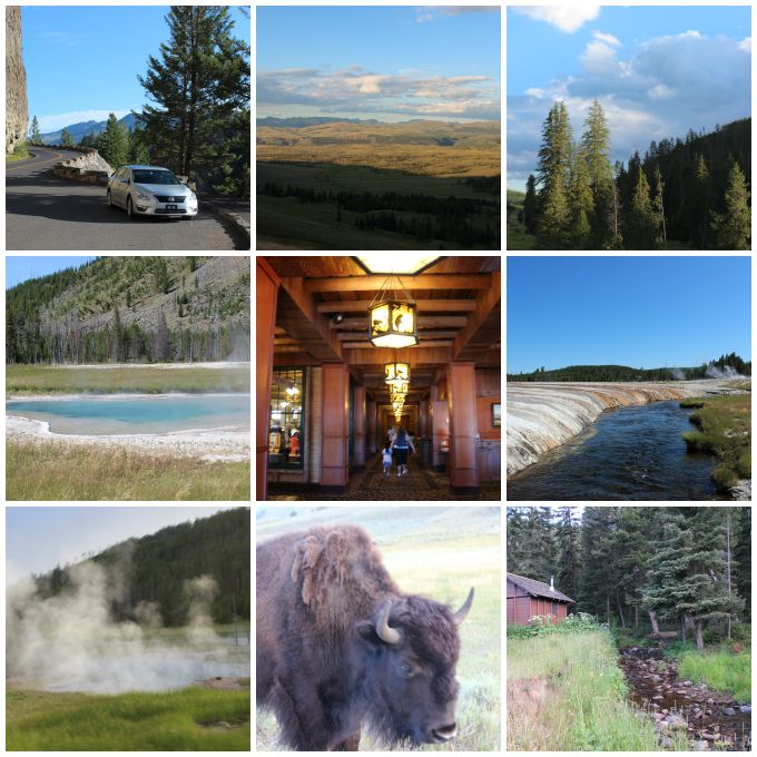 Photos from Yellowstone National Park.