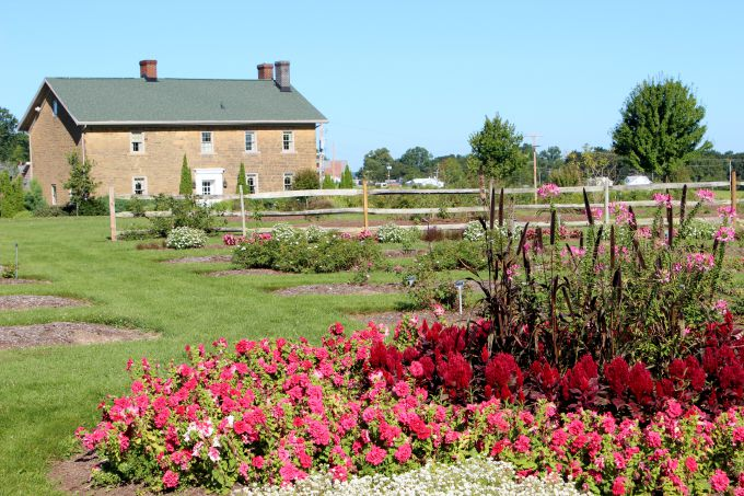 Secrest Arboretum in Wooster, Ohio has 125 acres and 25 theme gardens.