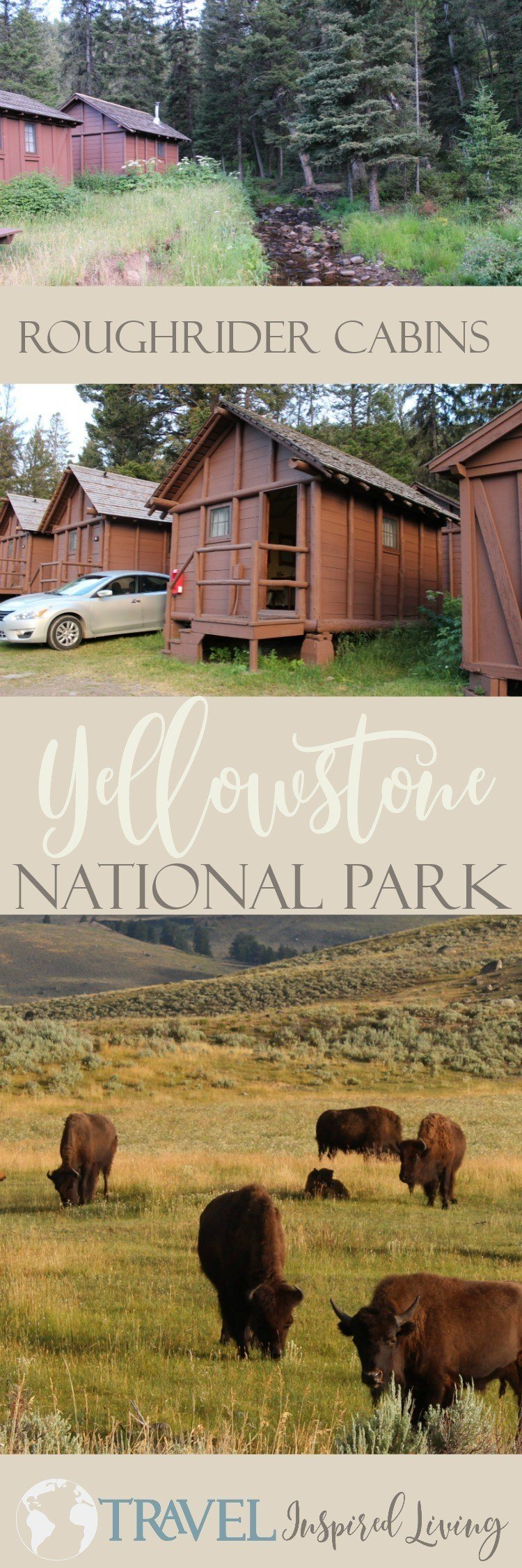 The Roughrider Cabins at Yellowstone National Park are a welcome alternative to tent camping and affordable lodging within the park.