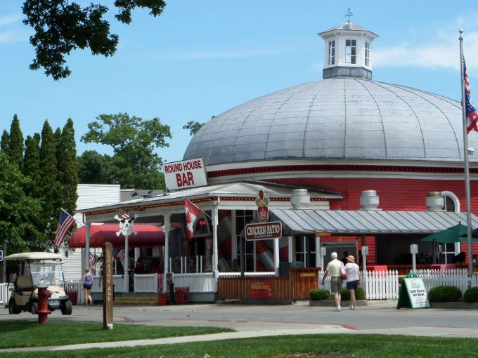 The Round Bar on Put-in-Bay is over 140 years old- an island icon.