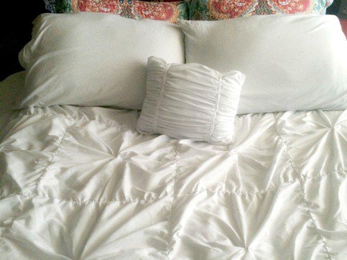 My new bedding helps me get a good night's sleep
