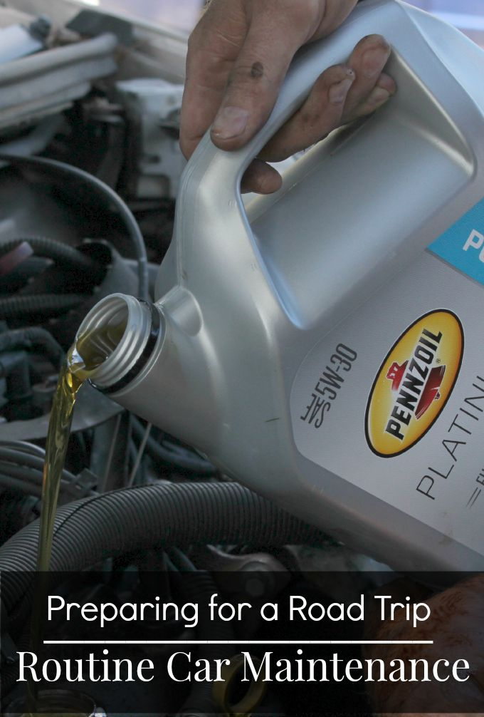 Preparing for a Road trip- Routine Car Maintenance