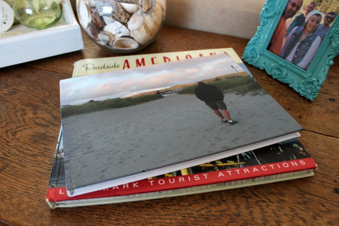 Snapfish photo book makes a perfect coffee table book.