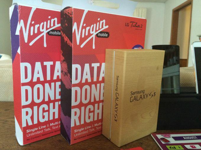 Survival Kit from Virgin Mobile