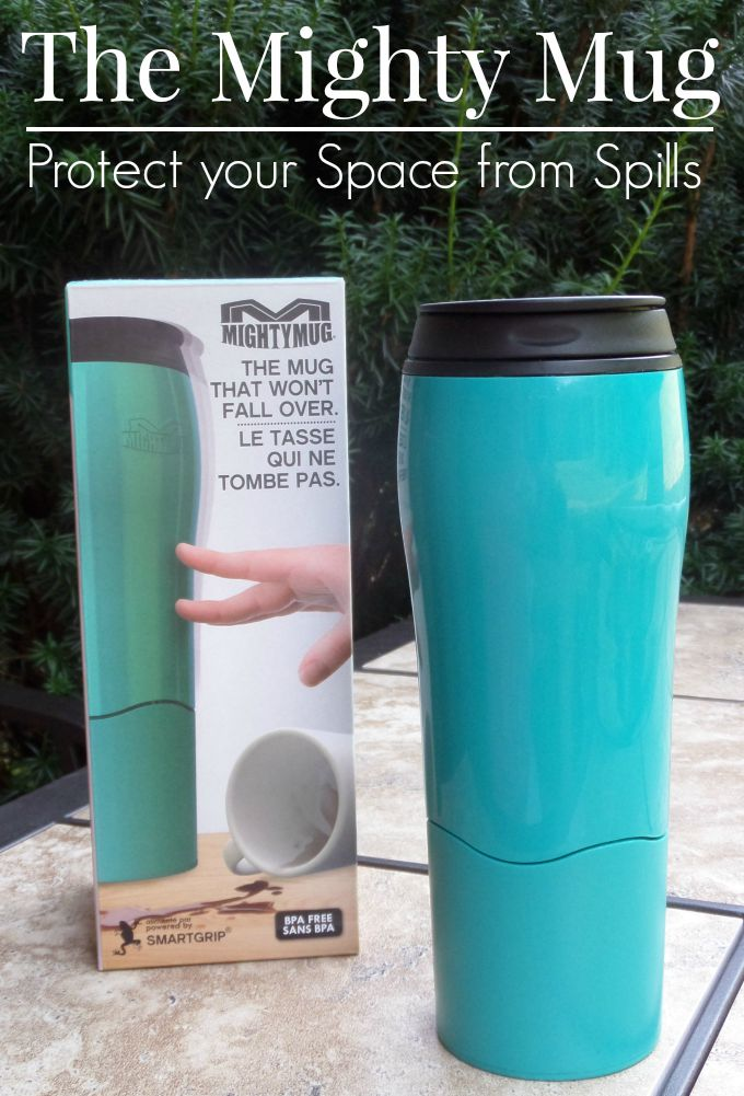 The Mighty Mug protects your space from Spills