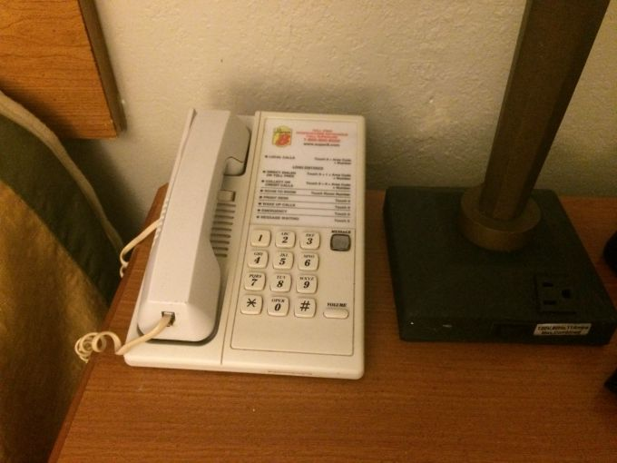 The phone is one of the germiest places in hotel rooms
