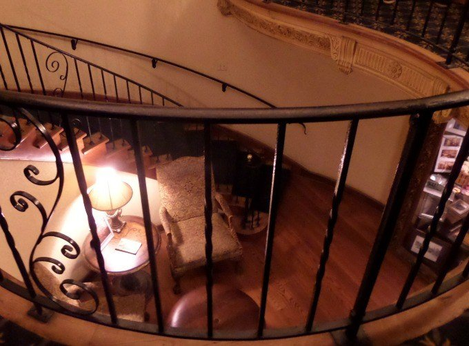 Inside Punderson Manor State Park Lodge