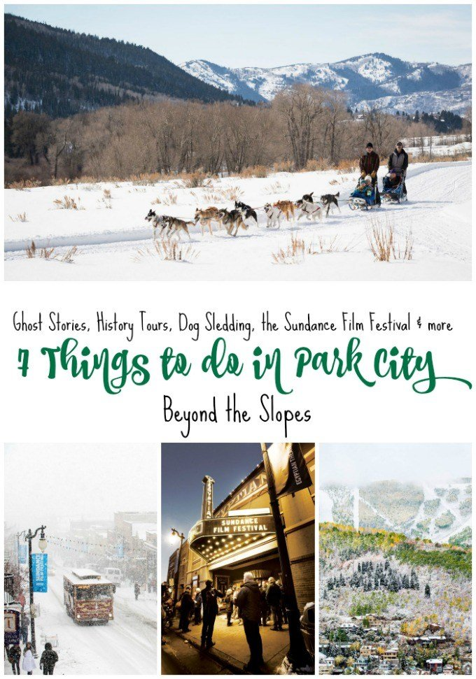 Ghost stories, history tours, world class cuisine, dog sledding and more. Seven things to do in Park City, Utah beyond the slopes.