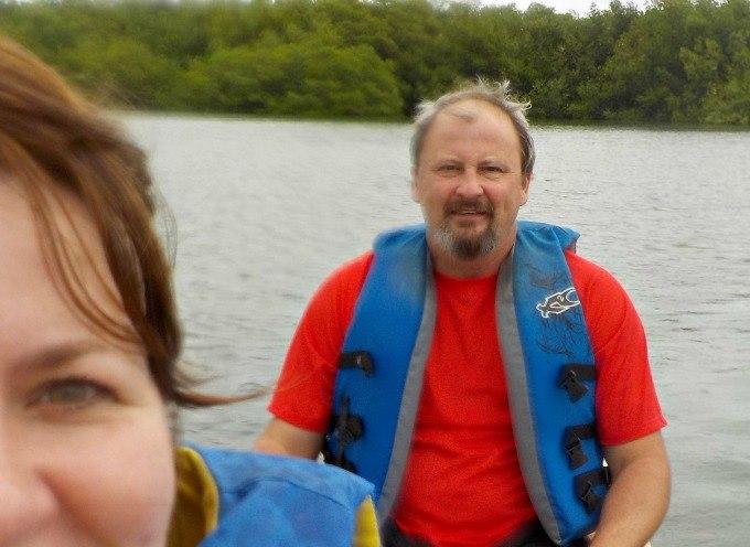 Kayaking in Belize- in the rain