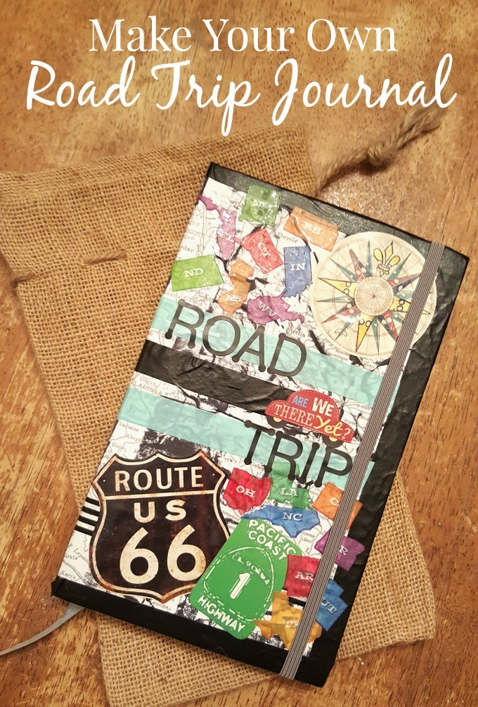 Make your own Road Trip Journal