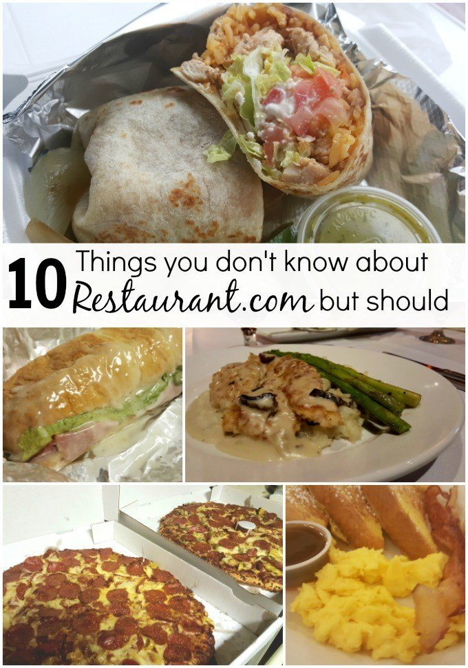 10 Things you don't know about Restaurant.com but should