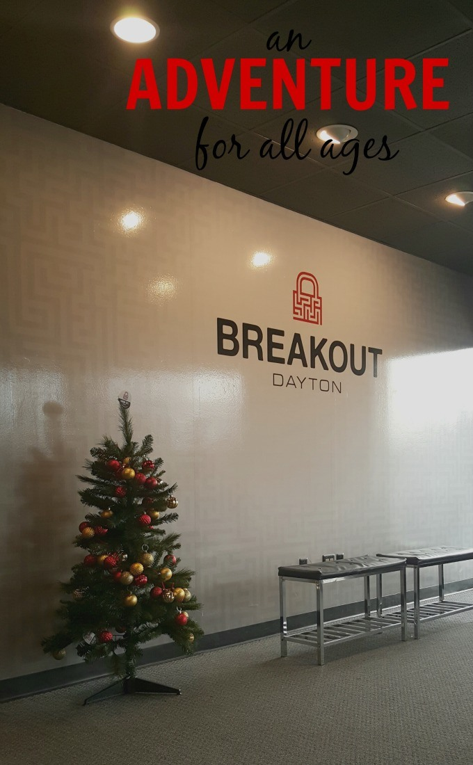 Breakout Escape Games in Dayton, Ohio is an adventure for all ages to enjoy. #BreakoutGames #ad