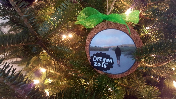 Easy DIY Travel inspired Christmas ornaments that you can make in minutes.