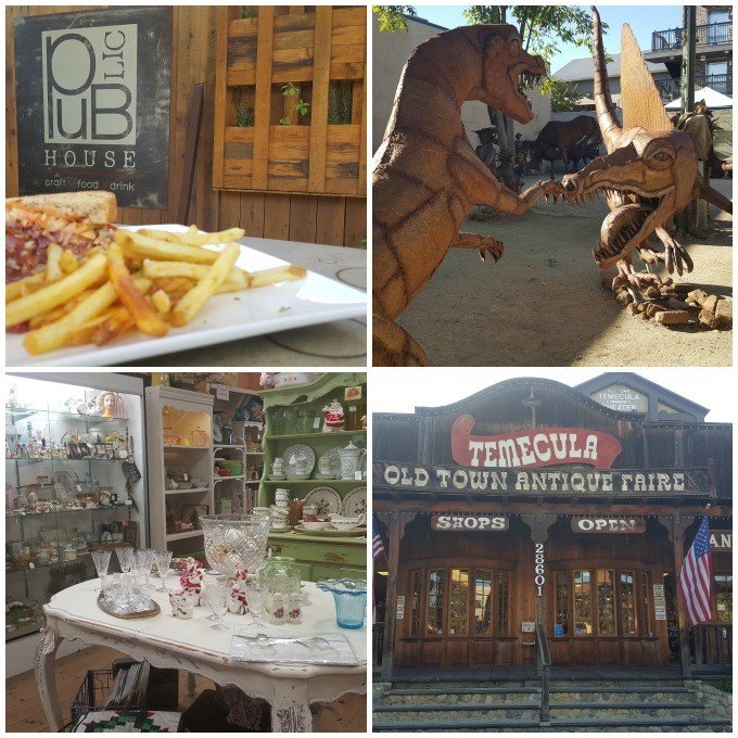 Old Town Temecula in the San Jacinto Valley in Southern California offers an eclectic mix of attractions, restaurants and shops.