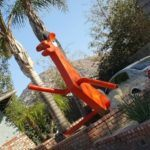 Roadside Attractions in California: Gumby and Pokey