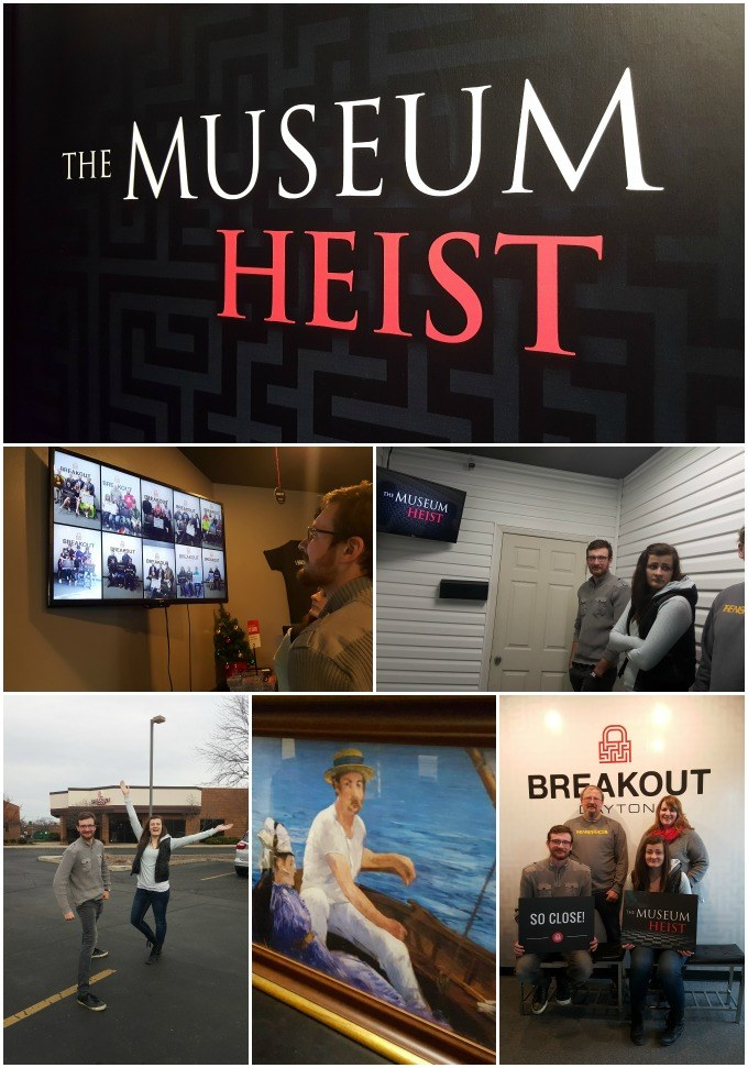 The Museum Heist Breakout Dayton Escape Games