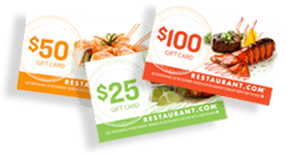 Learn how you can save with Restaurant.com giftcards