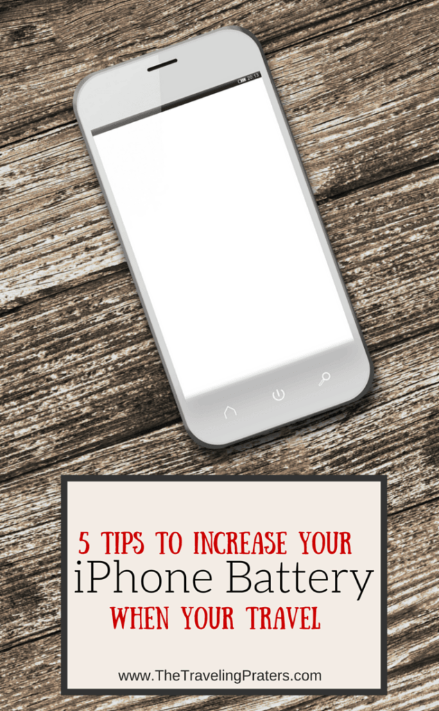 5 Tips to Increase your iPhone Battery when you Travel