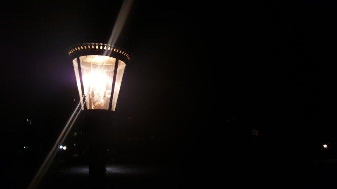 Lamp post at Beaver Creek
