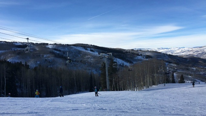 The slopes at Beaver Creek Ski Resort