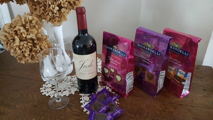 Enter to win a $75 American Express Gift Card from Ghirardelli and Josh Cellars wines.