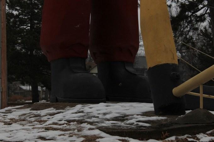 Johhny Kaw's size 55 boots