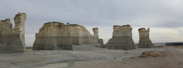 Monument Rocks: One of the 8 Wonders of Kansas