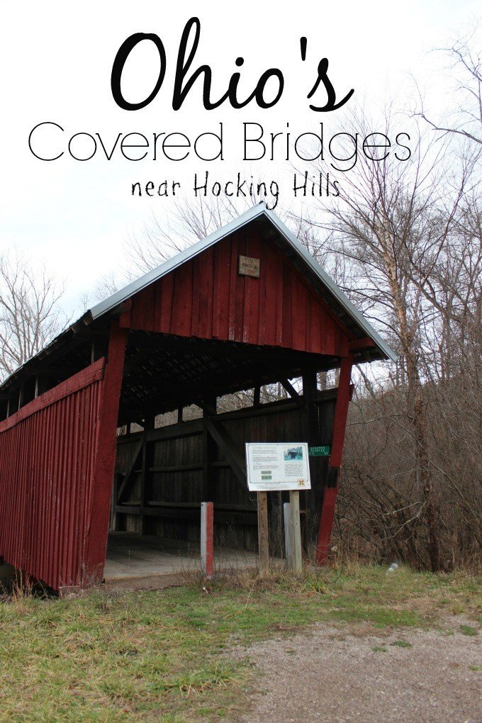 Explore three of Ohio's Covered Bridges near Hocking Hills in Vinton County.