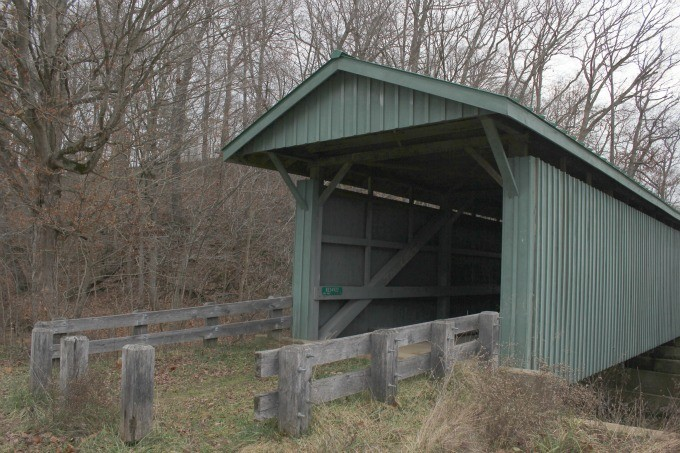 Ohio's Covered Bridges in Vinton County near Hocking Hills