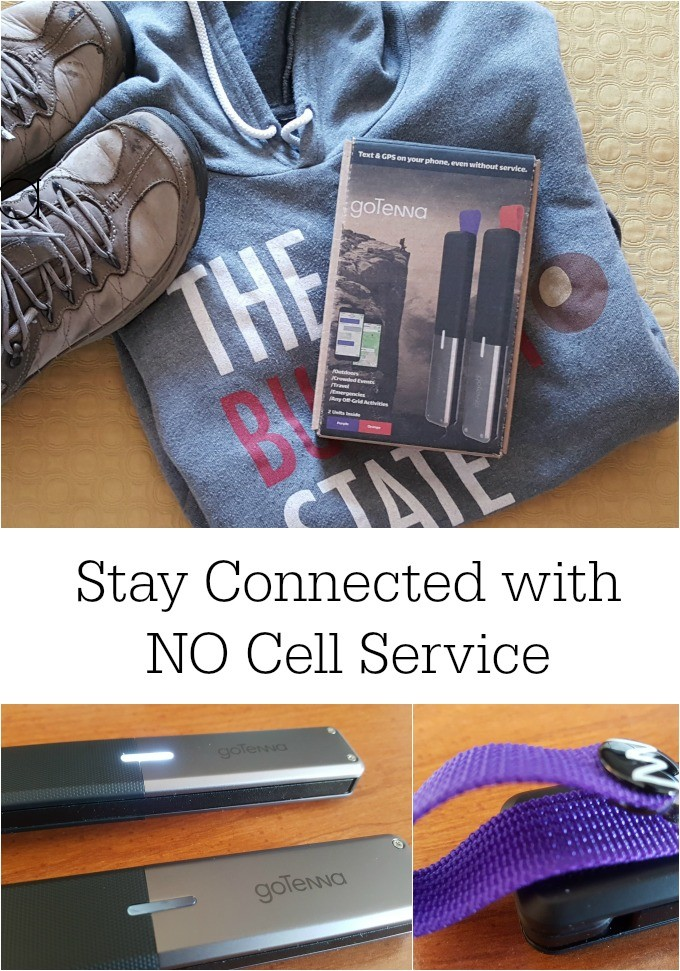 goTenna is ideal for hikers, mission groups, skiers, rescue personnel and keeps you connected when you have no cell service.
