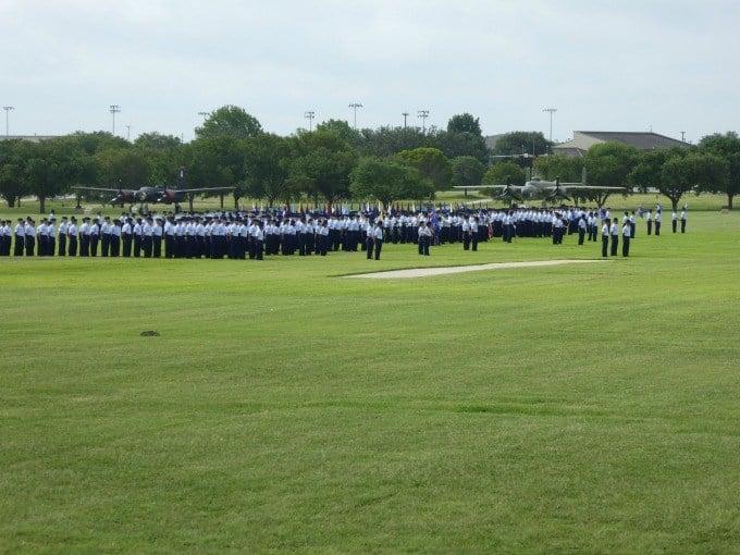 BMT graduation