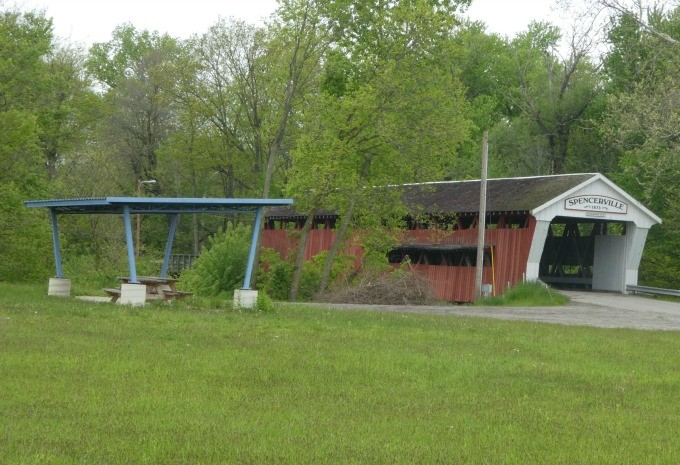 INDIANA Spencerville Covered Bridge