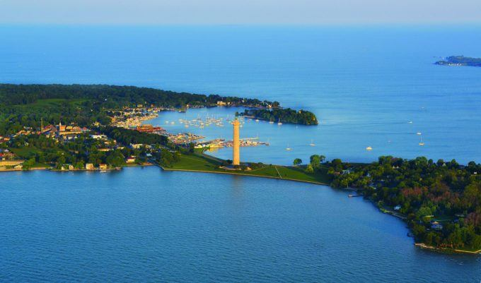 Put-in-Bay Aerial