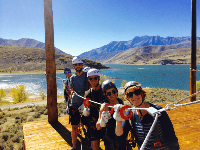 ZiplineUtah at Deek Creek Reservoir