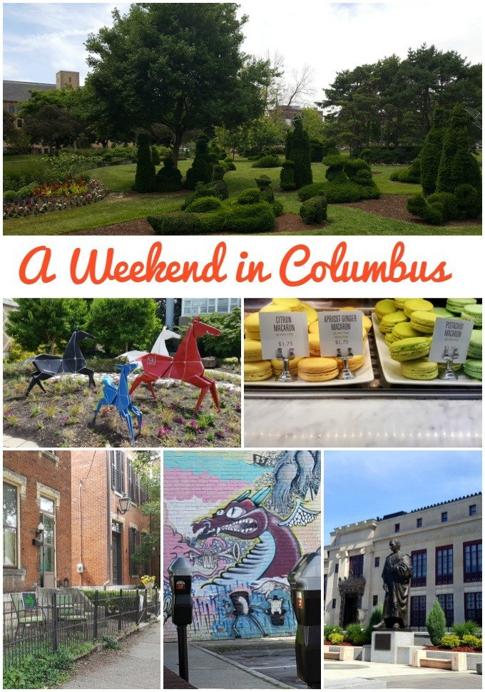 I spent a weekend in Columbus, Ohio and discovered tons of fun things to do in Columbus.
