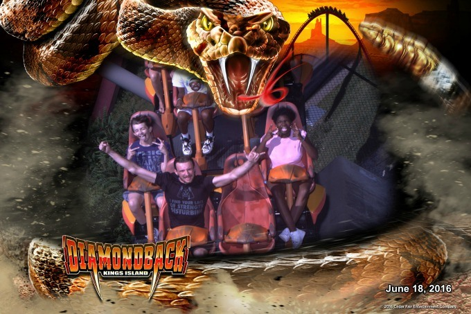 FunPix photos on thrill rides