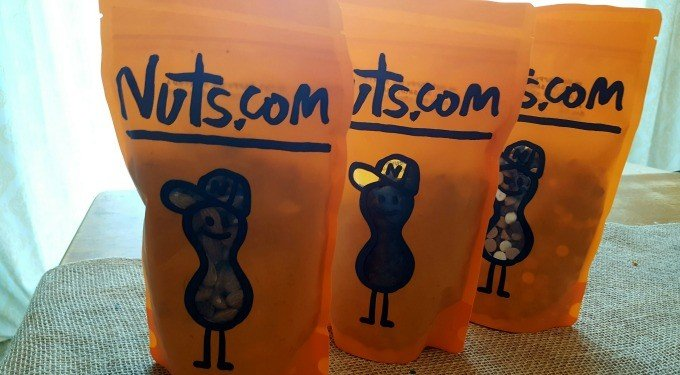 Nuts.com products come packaged in this adorable packaging