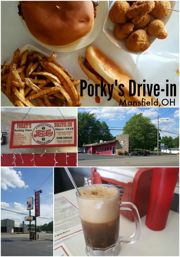 Porky's Drive-in Mansfield, Ohio