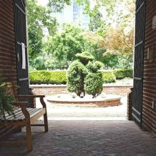 Topiary Park entrance