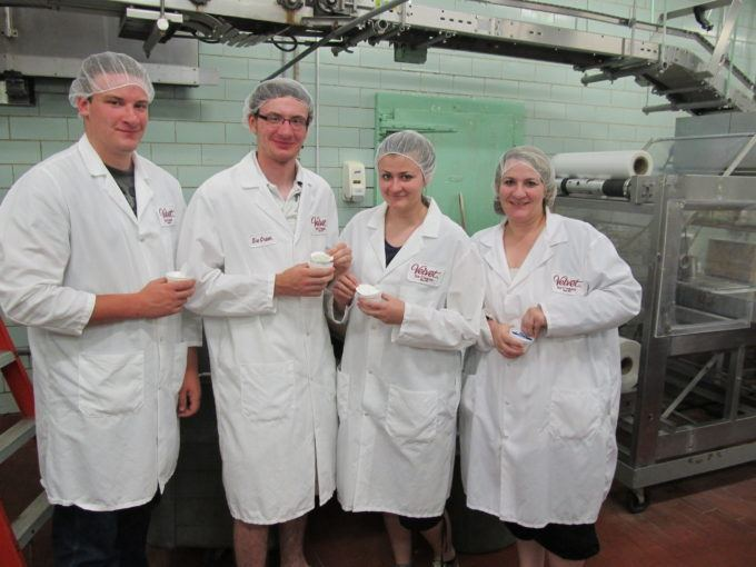 Velvet Ice Cream Factory tour at Ye Olde Mill is rated one of the best in the country