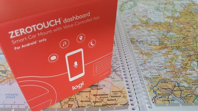 Logi ZeroTouch dashboard mount gives you a hands free connected experience