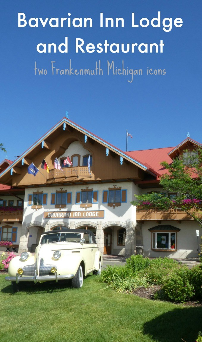 The Bavarian Inn Lodge and Restaurant are two Frankenmuth Michigan icons
