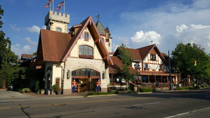 Frankenmuth Bavarian Inn Restaurant and castle shops