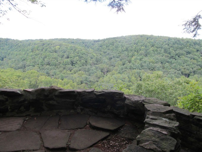 The Gorge Overlook at Mohican State Park in Loudonville