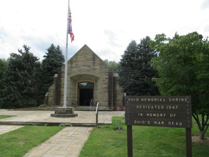The Shrine at Mohican State Forest