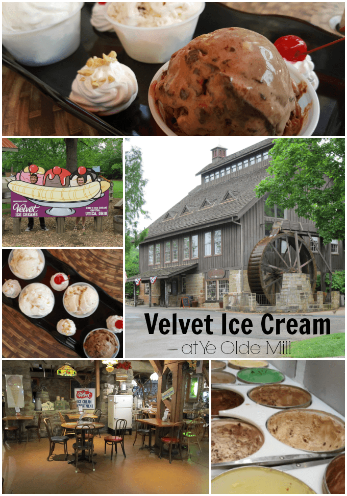 Tour the Velvet Ice Cream Factory at Ye Olde Mill in Utica, Ohio- voted one of the Top 10 Ice Cream Tours in the U.S.