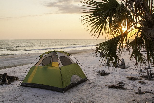 Tell me this isn't an amazing view while tent camping?