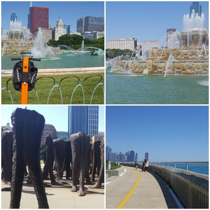 Chicago Segway Tours offers a variety of tour options, including a Gangster Tour that I would LOVE, a Pokémon Go! Tour, a Haunted Tour, and a Holiday Lights tour. You'll find one that appeals to you and your family.